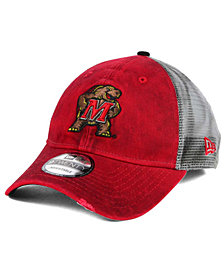 New Era Maryland Terrapins Team Rustic 9TWENTY Cap