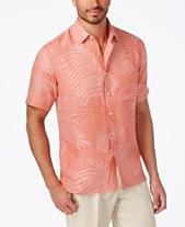 b0b6c0e7478 Tasso Elba Mens Casual Button Down Shirts   Sports Shirts - Macy s
