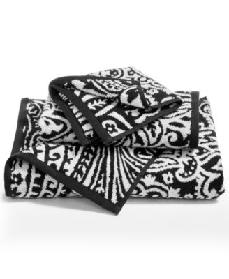 Elite Cotton Fashion Paisley Bath Towel Created For Macy S