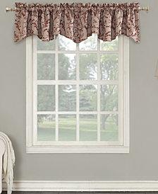 "Sun Zero Kalanie Floral 50"" x 18"" Blackout Lined Back-Tab Curtain Valance"