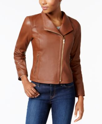 Cole haan leather jacket fit
