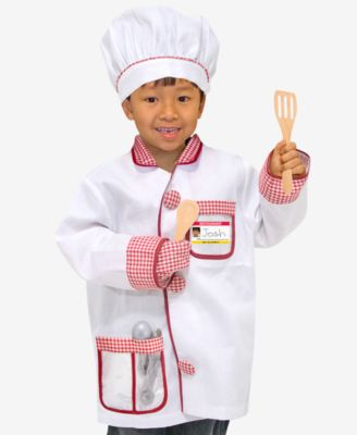 Melissa & Doug Kids Costume, Chef Role Play Costume Set