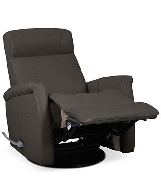 CLOSEOUT! Romy Leather Recliner, Created for Macy's