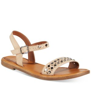 Material Girl Delany Flat Sandals, Created for Macy