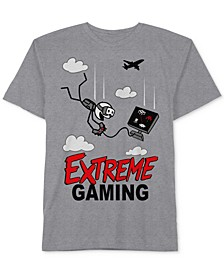 Video Game-Print T-Shirt, Big Boys