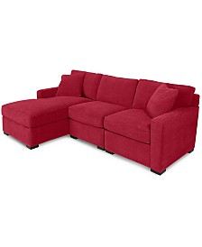 Red Sectional Sofas & Couches - Macy\'s