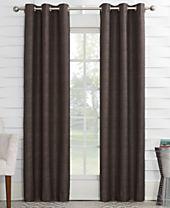"Sun Zero Oscar 40"" x 95"" Thermal Lined Grommet Curtain Panel"
