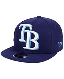 New Era Tampa Bay Rays Logo Grand 9FIFTY Snapback Cap