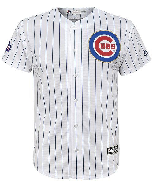 on sale 99d50 80da2 Majestic Anthony Rizzo Chicago Cubs World Series Gold Player ...