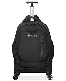 """Dual Compartment 4-Wheel 17"""" Laptop Backpack"""