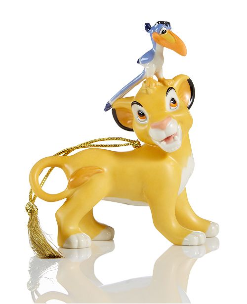 Disneys Simba Zazu Ornament
