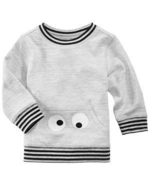 First Impressions Face Sweatshirt Baby Boys (024 months) Created for Macys