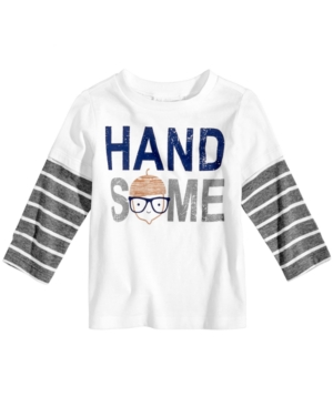 First Impressions HandsomePrint LayeredLook Cotton TShirt Baby Boys (024 months) Created for Macys