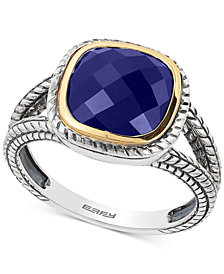 EFFY® Lapis Lazuli Ring (2-3/4 ct. t.w.) in Sterling Silver & 18k Gold