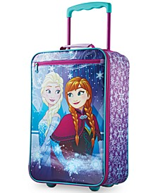 "Disney Frozen 18"" Softside Rolling Suitcase"