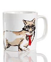 The Cellar Fox Mug, Created for Macy's