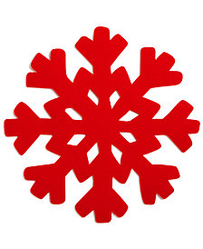 The Cellar Snowflake Charger, Created for Macy's