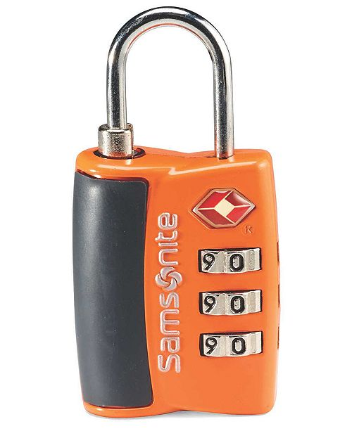 Samsonite Travel Sentry 3-Dial Combo Travel Lock