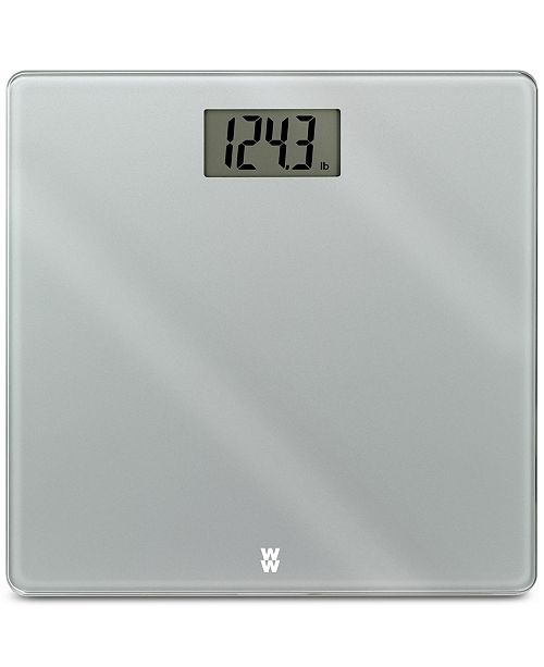 Conair Weight Watchers Scales by Glass Precision Extra-Slim Electronic Scale