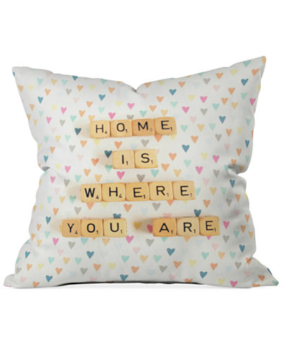 Deny Designs Happee Monkee Home Is Where You Are 16
