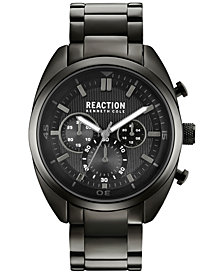 Kenneth Cole Reaction Men's Gunmetal Stainless Steel Bracelet Watch 45mm