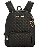 Betsey Johnson Quilted Medium Backpack