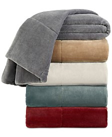 Vellux Luxury Plush King Blanket