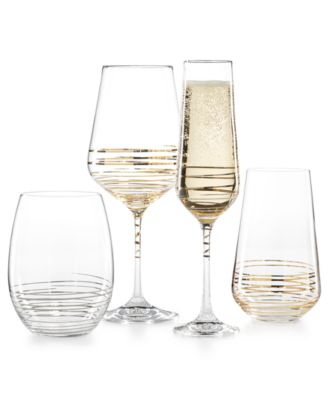 Electric Boulevard 4-Pc. Highball Glass Set