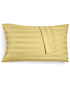Stripe Standard Pillowcase Set, 550 Thread Count 100% Supima Cotton, Created for Macy's