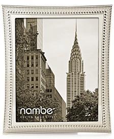 """Nambe Beaded 8"""" x 10"""" Frame"""