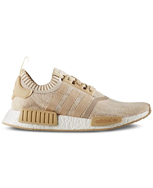377d36907665c adidas Men s NMD R1 Primeknit Casual Sneakers from Finish Line ...
