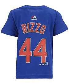 Majestic Anthony Rizzo Chicago Cubs Official Player T-Shirt, Infant Boys (12-24 months)