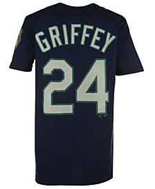 Majestic Ken Griffey Jr. Seattle Mariners Official Player T-Shirt, Infant Boys (12-24 months)