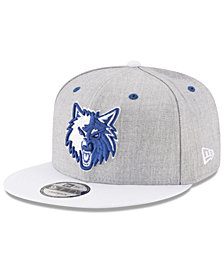 New Era Minnesota Timberwolves White Vize 9FIFTY Snapback Cap