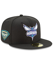 New Era Charlotte Hornets Metallic Diamond Patch 59FIFTY Fitted Cap