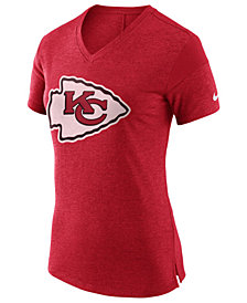 Nike Women's Kansas City Chiefs Fan V-Top T-Shirt