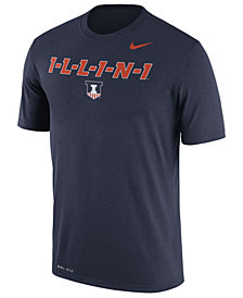 Nike Men's Illinois Fighting Illini Legend Verbiage T-Shirt