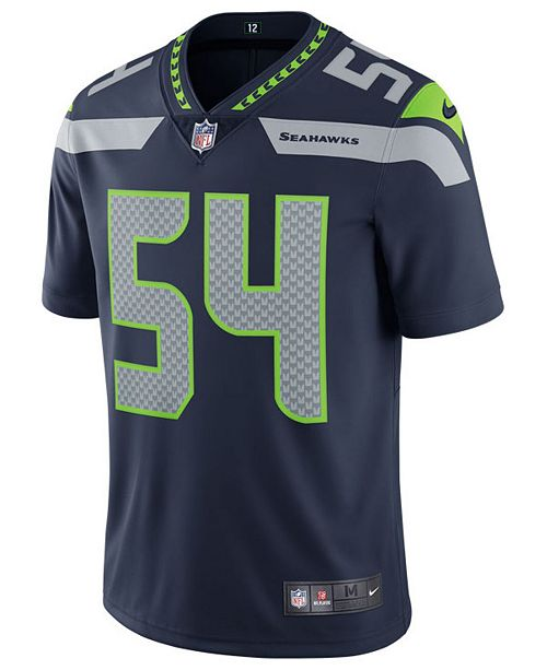 a64d0d73d Nike Men s Bobby Wagner Seattle Seahawks Vapor Untouchable Limited Jersey  ...