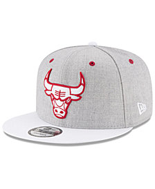 New Era Chicago Bulls White Vize 9FIFTY Snapback Cap