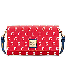 Dooney & Bourke Cleveland Indians Daphne Crossbody Wallet