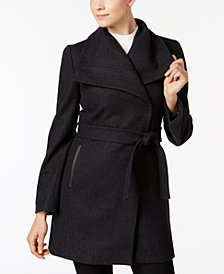 I.N.C. Belted Wrap Coat, Created for Macy's