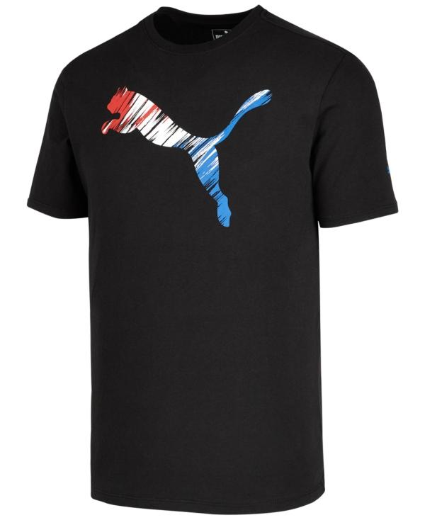 Puma Men's Logo-Print T-Shirt