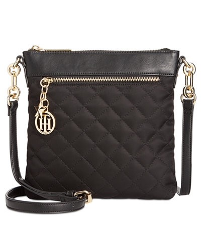 Tommy Hilfiger Quilted Charm Small North-South Crossbody