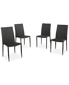Orlow Stacking Chairs (Set Of 4), Quick Ship