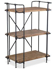 Beckert Indoor/Outdoor 3-Shelf Bookcase, Quick Ship