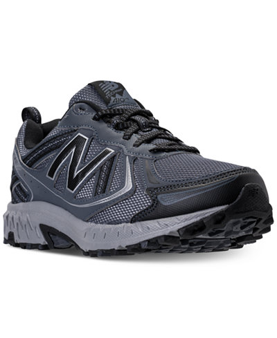 new balance men's mt410 v5 wide running sneakers  finish