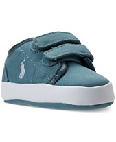 99600fe1e Polo Ralph Lauren Baby Boys' Ethan Low EZ Layette Casual Sneakers from  Finish Line