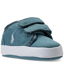 Polo Ralph Lauren Baby Boys' Ethan Low EZ Layette Casual Sneakers from Finish Line