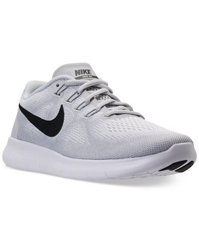 nike men 39 s free run 2017 running sneakers from finish line. Black Bedroom Furniture Sets. Home Design Ideas