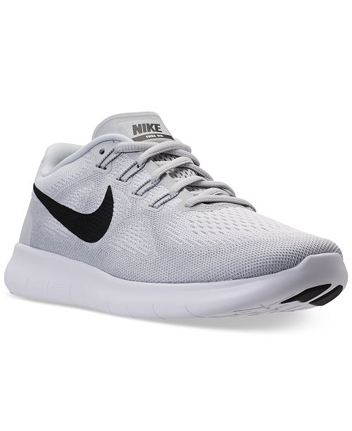 cheap price best sale utterly stylish Nike Men's Free Run 2017 Running Sneakers from Finish Line ...